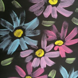"""Spring painting by the """"Kindies"""""""