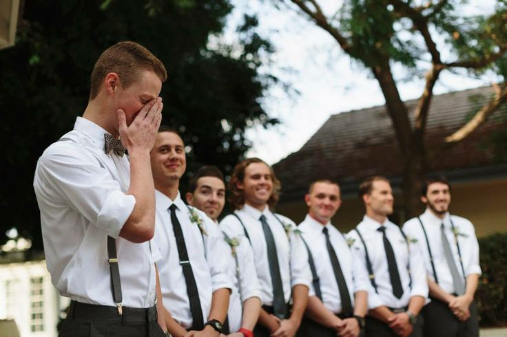 That's When I Look at the Groom... {Groom's Reactions}
