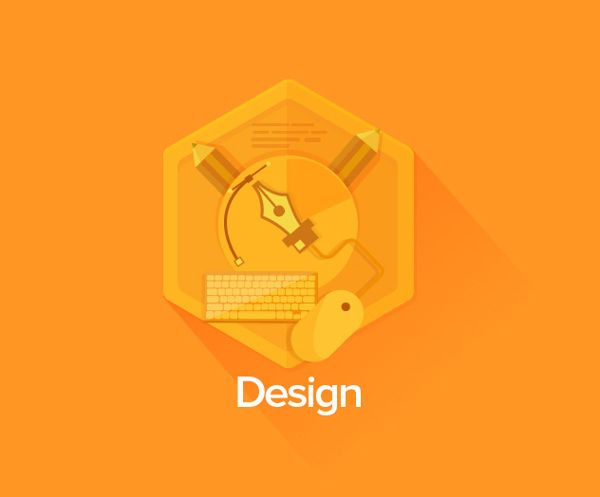 More Badges by Leonardo Zem, via Behance