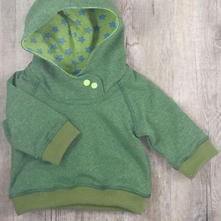 DIY-Anleitung: Baby-Hoodie nähen: 3 verschiedene Varianten  via DaWanda.com                                                                                                                                                                                 Mehr