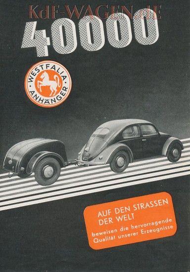 VW - 1950 - 40000 Wesfalia Anhänger - [5557]-1