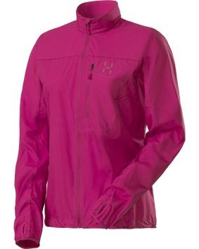 Haglöfs Shield -juoksutakki (109 €)  #Haglofs #Pink