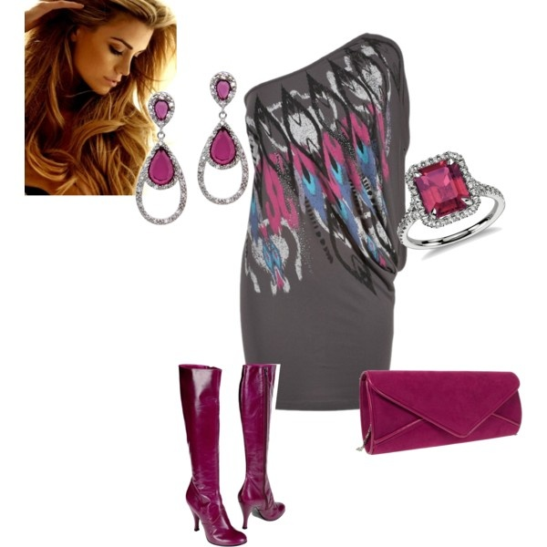 """""""night out"""" by teresajohnson-1 on Polyvore"""