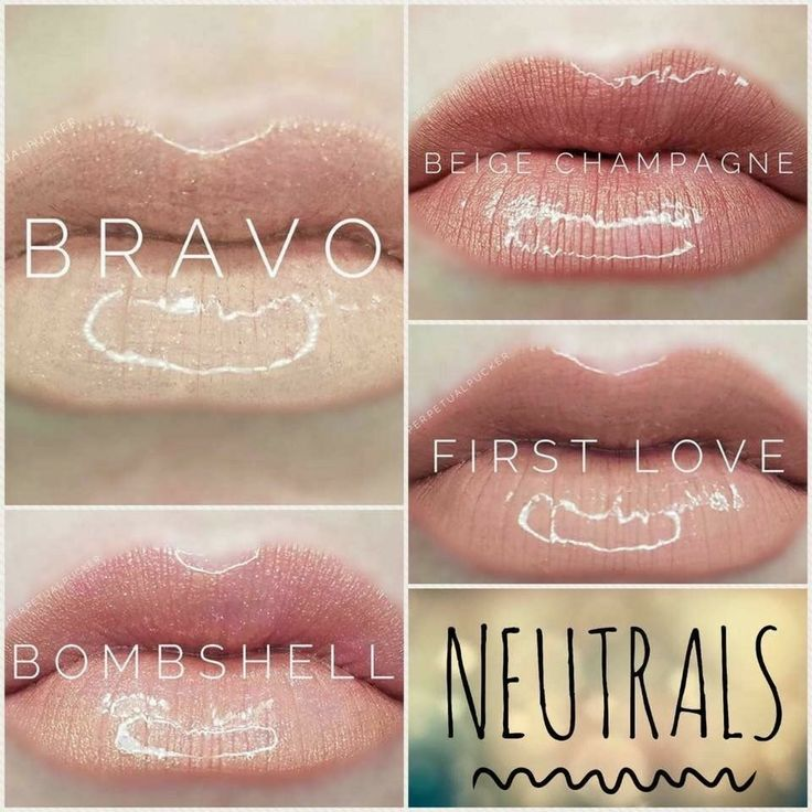 LipSense neutrals! Budge proof. Smudge proof. Kiss proof. Water proof lipstick