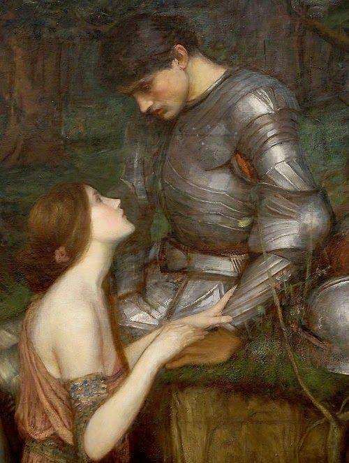 Lamia (detail). John William Waterhouse - Pre Raphaelite Art
