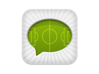 Dribbble - Soccer app icon by Raphael Lopes
