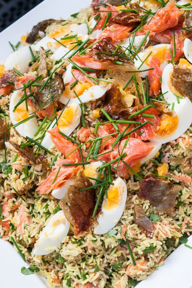 Stories from the Cellar - Smoked Ocean Trout Kedgeree #EatYourHistory #StoriesfromtheCellar #food #event #danthemancooking #catering #dinner #fishplace
