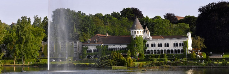 Château du Lac - Genval, Belgium  A charming luxury hotel in Brussels, set within an enchanting turn-of-the-century château on the banks of beautiful Lake Genval.  http://chateaudulac.warwickhotels.com/