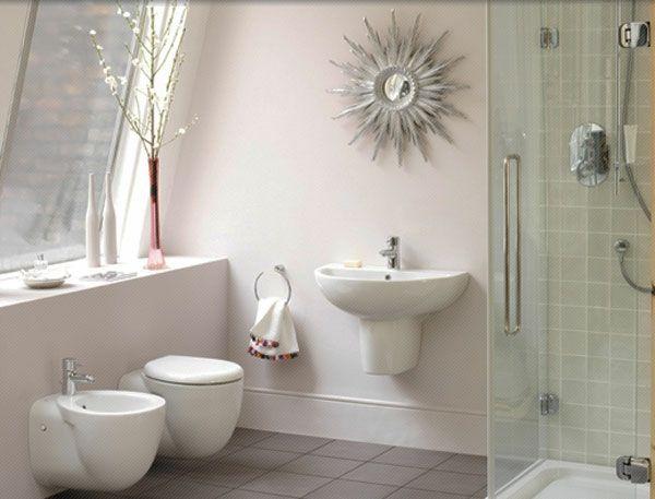 kleines bad einrichten badideen sonnenspiegel
