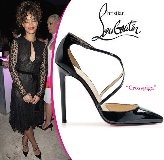 Rihanna in Christian Louboutin Pumps [CELE061] - $189.00 : Discounted Christian Louboutin,Jimmy Choo,Valentino Shoes Online store