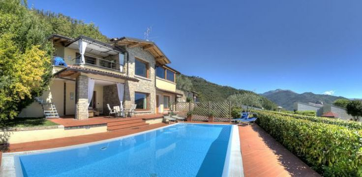 Villa Belvedere is a luxury private villa with private pool and spectacular views over #LakeGarda.