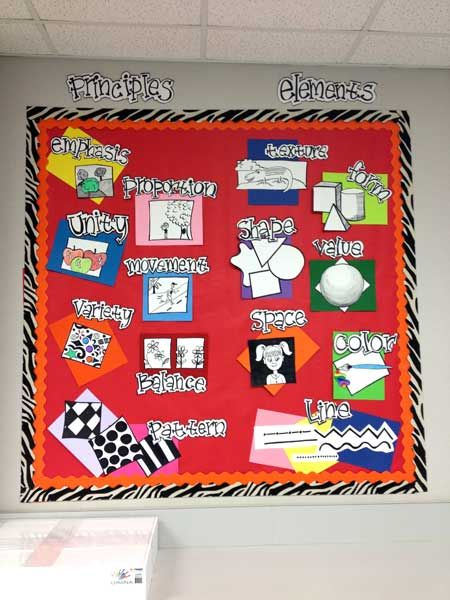 Elements and Principles. Ahhhh, I love this idea! I get these confused even after all these years :)