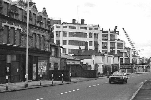 Samuel Jones' factory, Camberwell , during demolition 1982 - Google Search