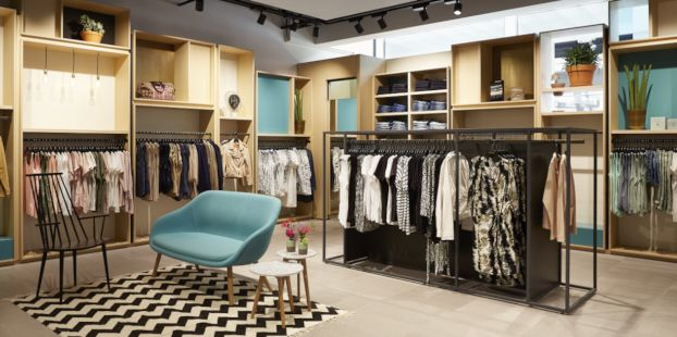 Damesafdeling - Modehuisblok Amsterdam Buitenveldert