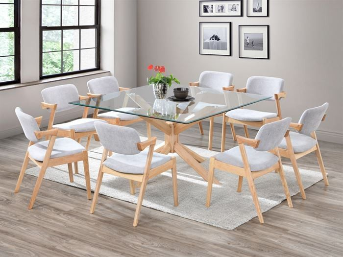 18+ Square glass dining table and chairs Best Seller