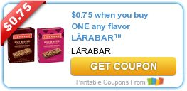 Tri Cities On A Dime: SAVE $0.75 ON ANY FLAVOR LARABAR