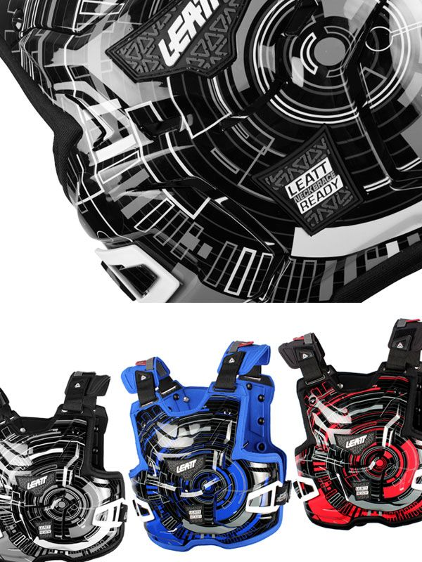 Tech graphics for teh Leatt Adventure Chest protector