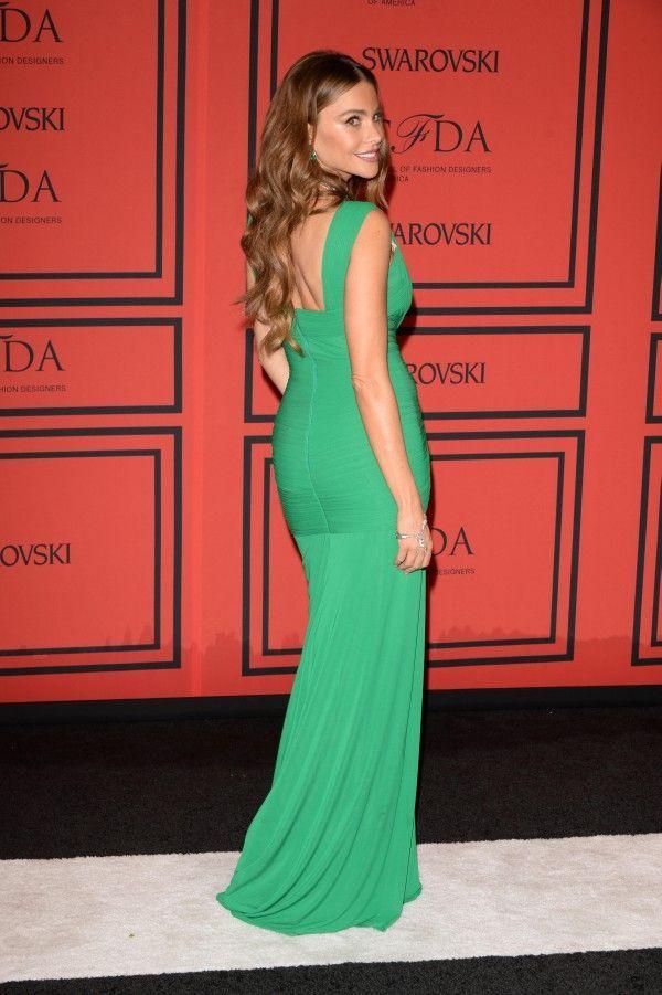 Sofija Vergara na dodeli nagrada Saveta američkih modnih kreatora (CFDA Fashion Awards) održanoj 3. juna 2013. godine.