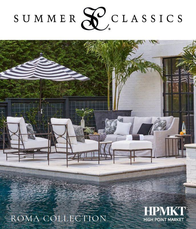 Pin By Mercy Keli On Home Patio Pool Furniture Summer Classics