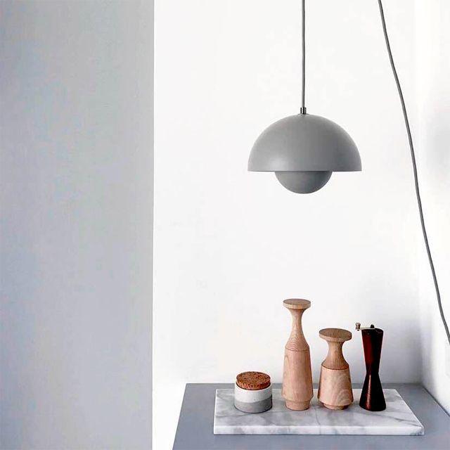 Tradition Flowerpot Design Klassiker Von Verner Panton Skandinavisch Lampe Wohnen Design Design Leuchten Lampen Design