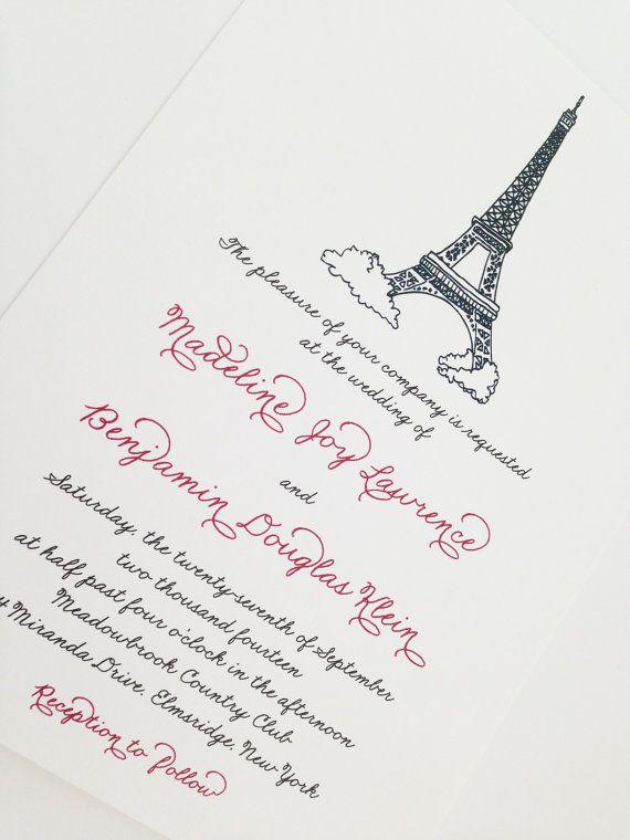 Torre Eiffel, Parigi invito a nozze - Wedding parigino http://www.etsy.com/it/listing/162717555/vintage-vintage-invito-a-nozze-parigi?ref=sr_gallery_11&ga_search_type=all&ga_page=1&ga_includes%5B0%5D=tags&ga_search_query=paris+wedding+invitations&ga_view_type=gallery