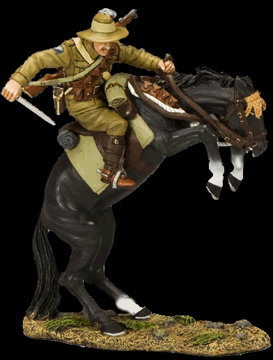 Australian Light Horse King & Country producers of all-metal, hand-painted 1:30 scale 60mm Collectible toy soldiers, military miniatures and civilian toy soldier figures.    In addition to metal toy soldier figures and military miniatures, King & Country has also developed an amazing and expanding range of scale model buildings and fighting vehicles to go with our collectible toy soldiers.  #toysoldiers, #miniaturetoysoldiers, #actionfigures, #toystore, #collectibles