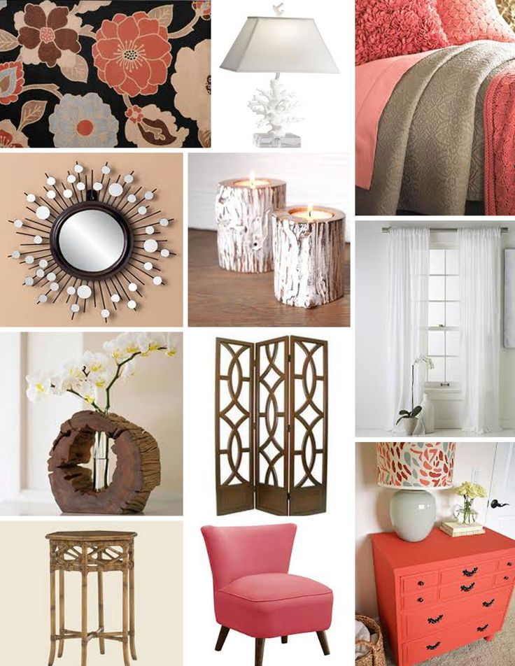 coral bedroom ideas. tan and coral bedroom decor with wood accents Best 25  Coral ideas on Pinterest color