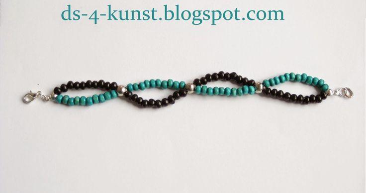 DS 4 Kunst: Drewniana bransoletka; Wooden bracelet