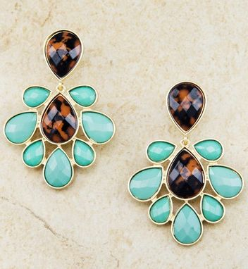 Turquoise earrings How fun are these #Fashion