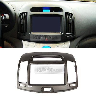 "Fascia centro de tablero 7"" GPS integrado normal Tipo Para Hyundai Elantra 2007-2010"