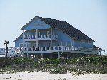 Crystal Beach Texas Beach House Blue Paradise for Rent | Beach House Rental