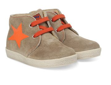 Bruine Naturino kinderschoenen Falcotto 1371 boots