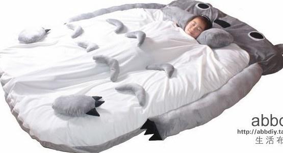 eBay   2012 models 230CM Totoro Double bed sleeping bag sofa large gift