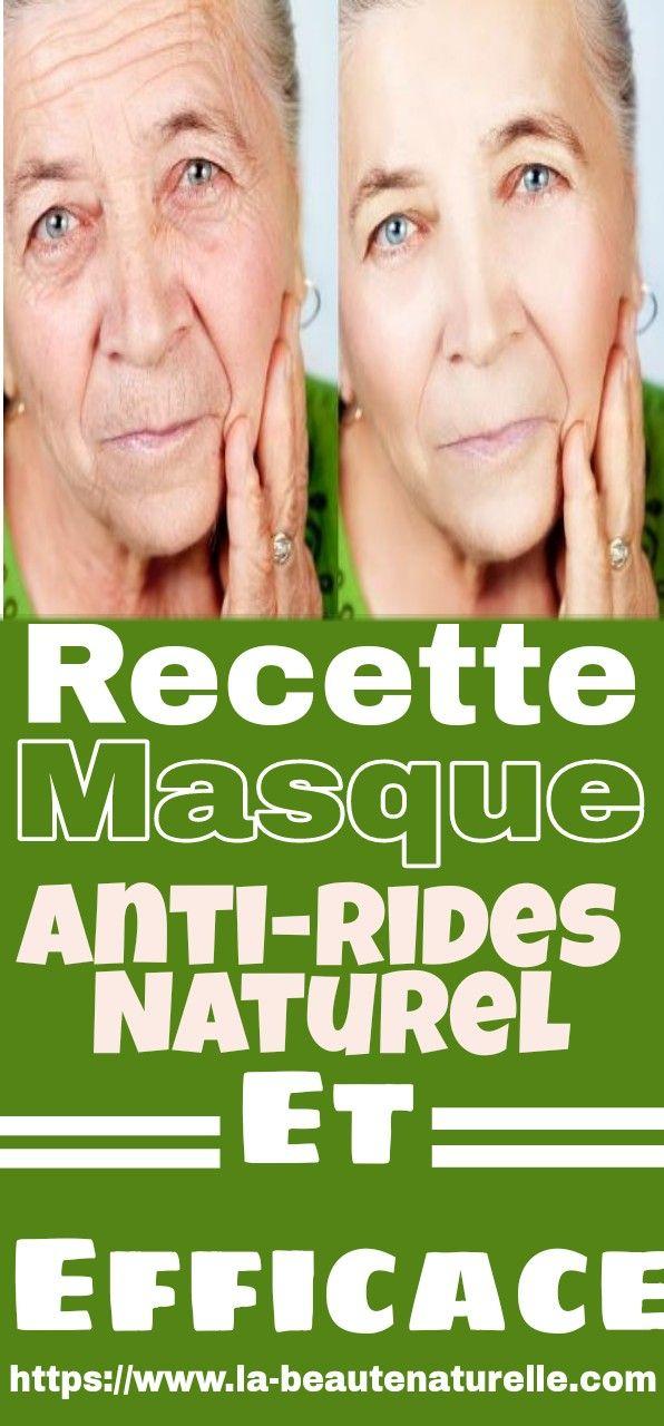 la réputation d'abord nouveaux articles qualité stable Recette masque anti-rides naturel et efficace | astuces ...