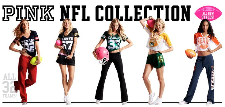 Victoria Secret NFL Collection | ... la nouvelle collection Victoria's Secret aux couleurs de la NFL