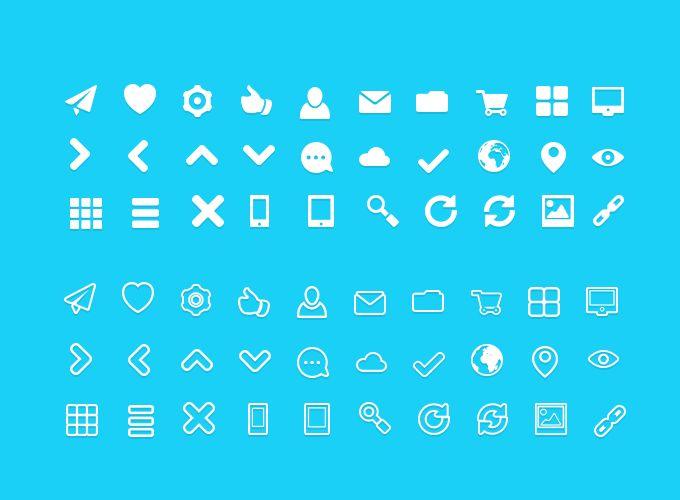 FatIcons - Free Icon Set