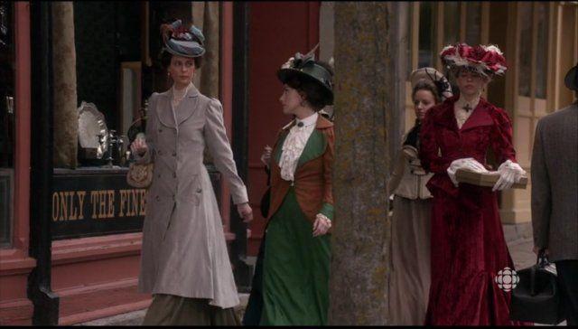 Suffragettes in the Murdoch Mysteries