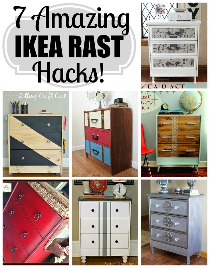 7 Amazing IKEA RAST Hacks! girlinthegarage.net
