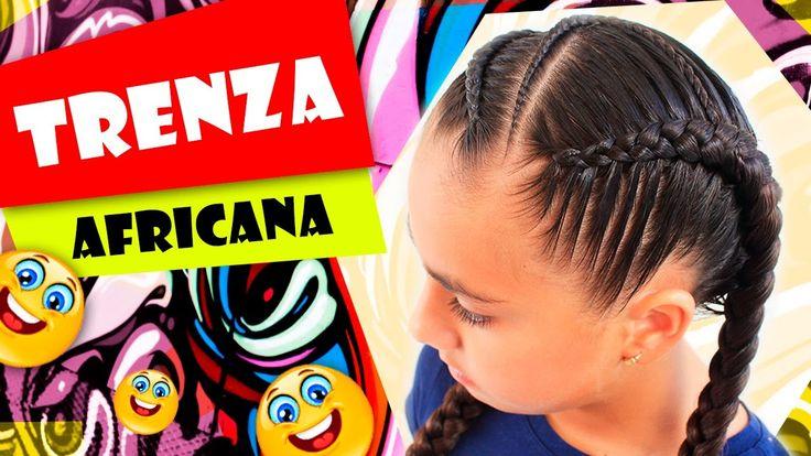 Trenza Africana - African Hair - Peinados para el colegio