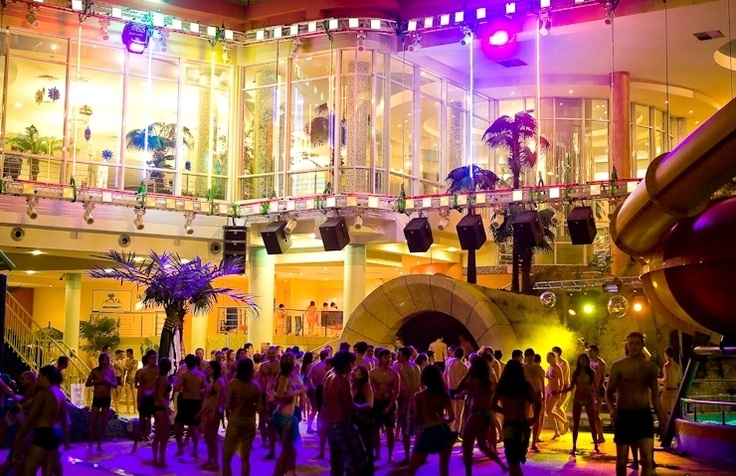 ночные вечеринки в аквапарке, 22 декабря - White Party / night parties at the water park, December 22 - White Party