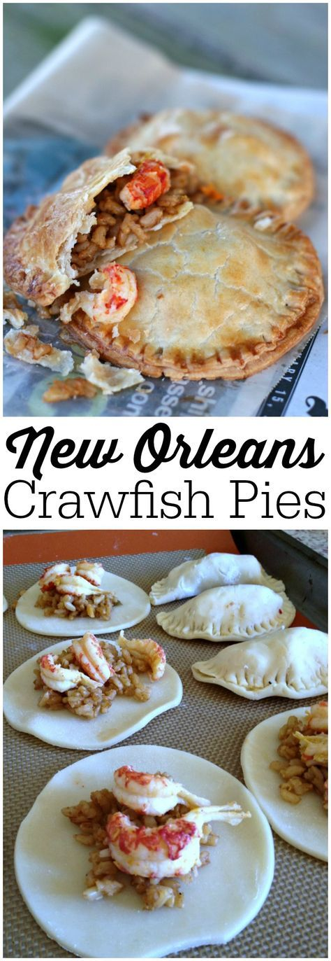 These New Orleans Crawfish Pies are easy to make, and they are baked! Even better.