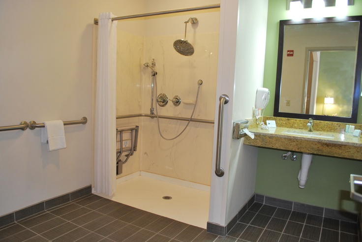 1000 images about handicap accessible on pinterest - Disabled shower room ...