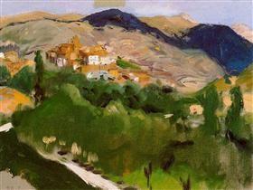 Mountains at Jaca - Joaquín Sorolla