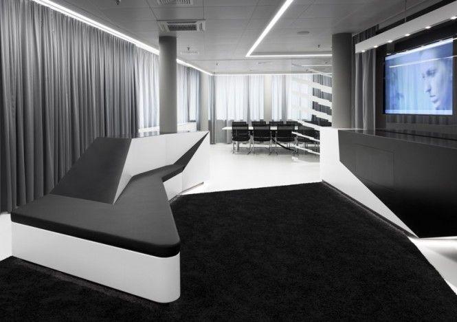 Monochrome Briefing Room