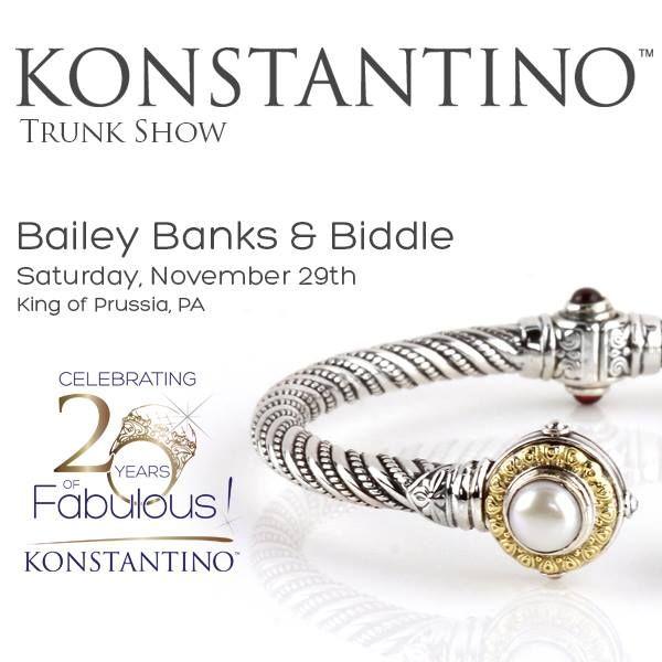 November 29 Bailey Banks & Biddle - King of Prussia, PA