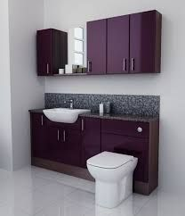 Image result for purple fitted bathroom furniture