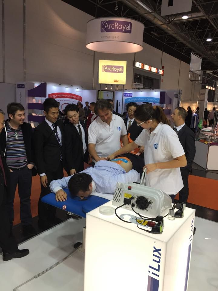 #MectronicMedicale team at Medica 2014, first day in Dusseldorf... Hall 05 – P30 12 - 15 November 2014 – Dusseldorf – Germany