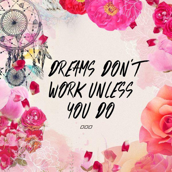 """Dream Dont Work Unless You Do"" Like & Repin. Noelito Flow. Noel Panda…"