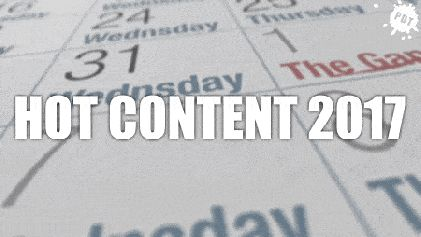 Hot Content King 2017 - #content #2017 #2017trends  - http://www.purpledropteam.com/blog/2017/12/21/die-5-kracher-themen-2017/