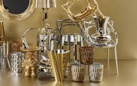 More from the elegant Kartell Precious range, pictured with the Masters chair, Shanghai Vase, Napoleon gnome stool, Bourgie lamp and the Jelly vase
